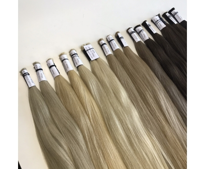 Best seller slavic colored bulks remy hair  for European countries Wholesale price Good deal