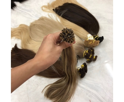 Hot Beauty Piano Flat Tip Hair Pre bonded Hair Extension