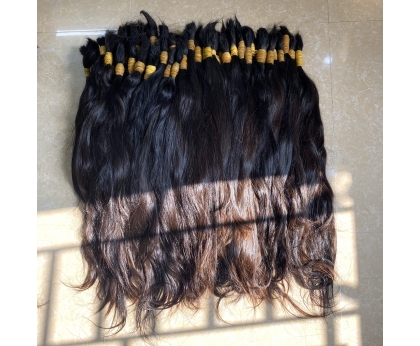 Raw Human Vietnamese Hair Uneven Haircut Perfect For Bleaching and Coloring