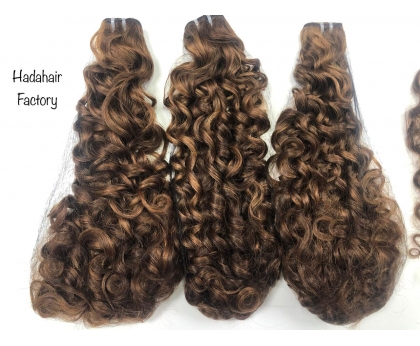 HOT SALE PACKET PIXIE CURLY 3 BUNDLES AND 1 CLOSURE 4X4