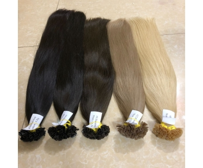 100% Human hair Remy Double Drawn Keratin Flat - tip Vietnamese Hair Extensions