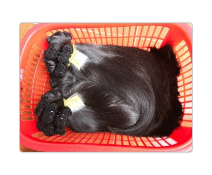 100% Single donor VietNamese Straight Human Hair Extension, Cuticle Aligned hair