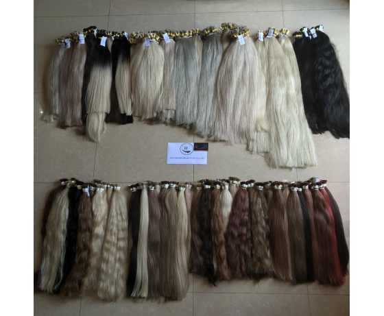 Fast Shipping Wholesale High Quality Hair Different Colors Hair Extension