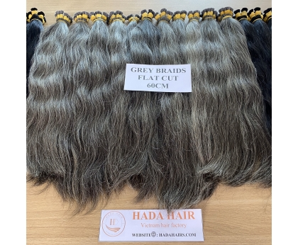 Wholesale Grey Hair Bulk Best Choice For Bleaching Most Popular In Russia Europe Market